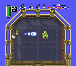 Legend of Zelda, The - A Link to the Past - Agahim Vs Bug Net - User Screenshot